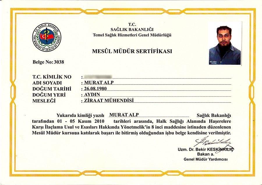 Mesül Müdür Murat ALP
